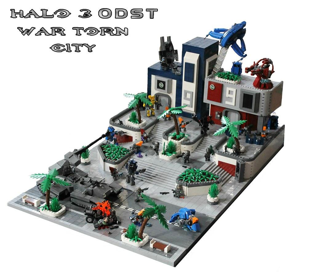 Lego Halo 3 ODST: War Torn City   Hey guys, welp, my latest ...