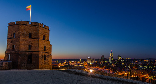 Gediminas Tower by CC user 112693323@N04 on Flickr