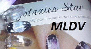 nail art galaxie star