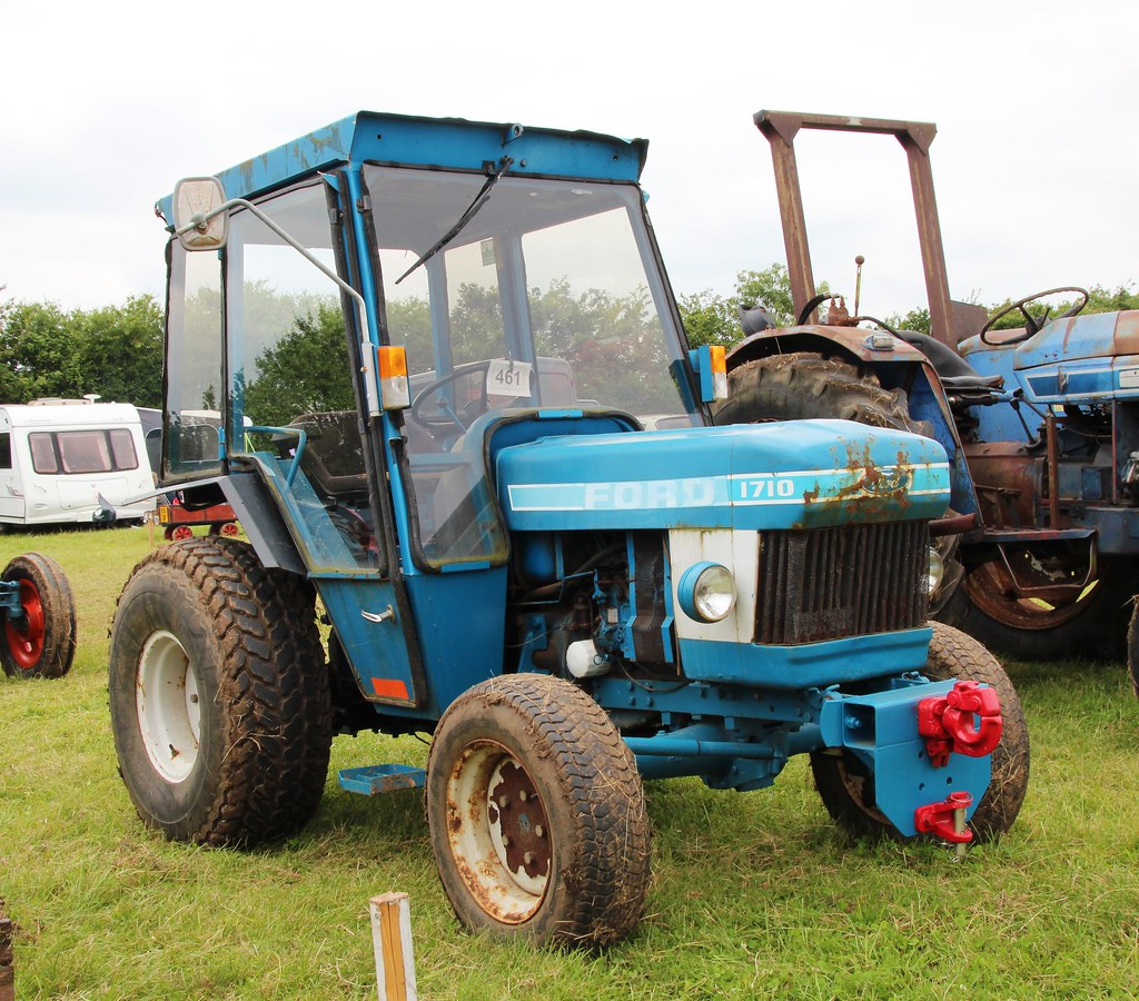 Ford 1710 Tractor Ballast : B dvw ford tractor oddly registered as a