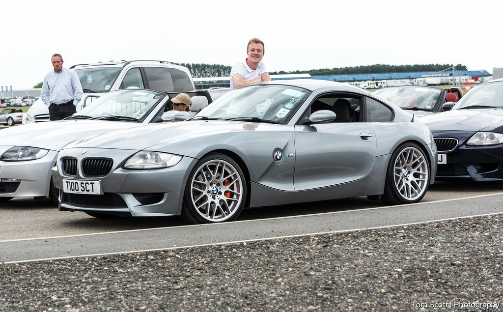Bmw E86 Z4 Z4m Coupe Csl Parade Lap Queue Z Fest Z