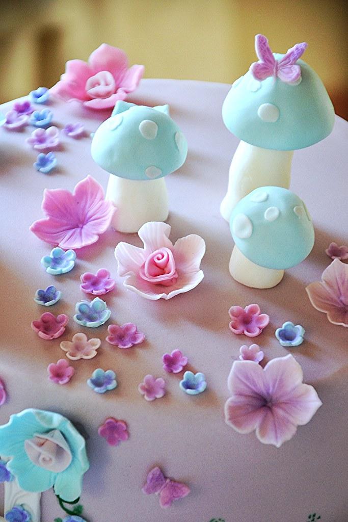 Fondant Princess Cake Images