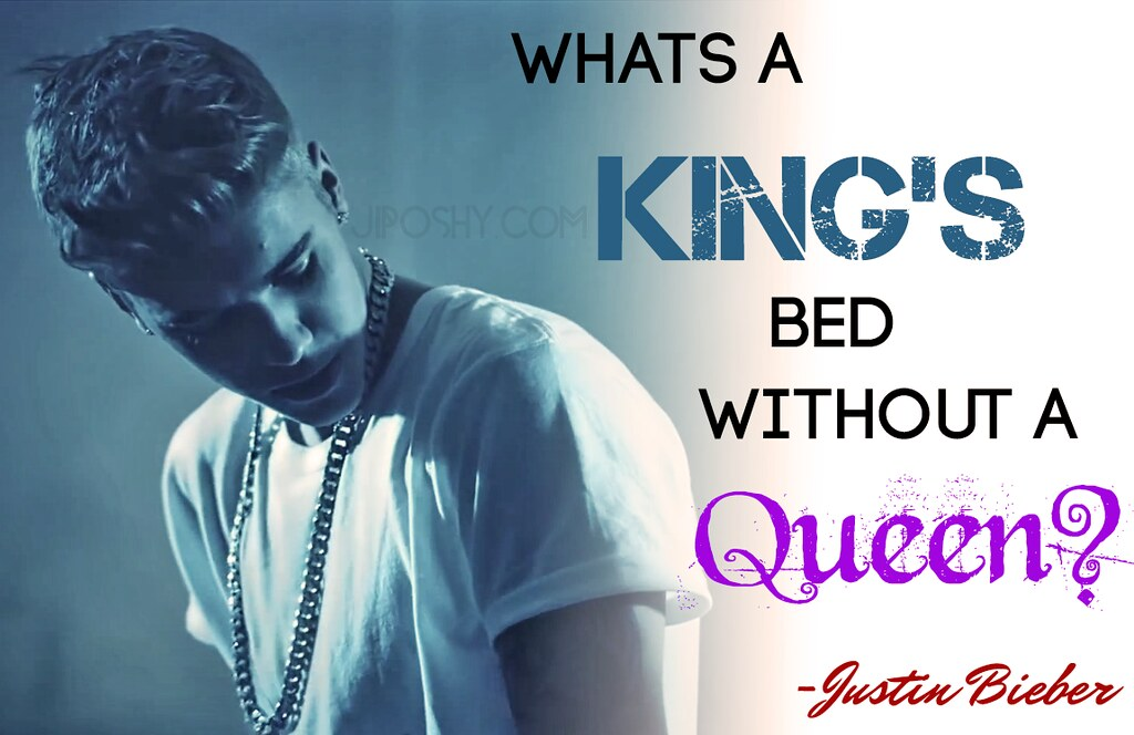 King And Queen Love Quotes Delectable Justin Bieber Queen King Quotes Love Inspirational Wallpap…  Flickr
