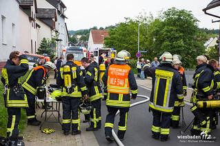 Kellerbrand in Kirche Bad Schwalbach 11.06.16