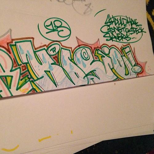 Connector pens #graffiti#graff#art#tags#texta#pencil#pens#igers ...