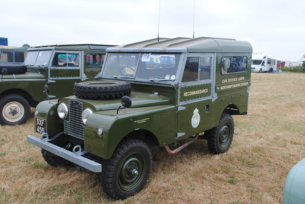 Land Rover 1958 Series 1 Civil Defence Corps Livery Flickr