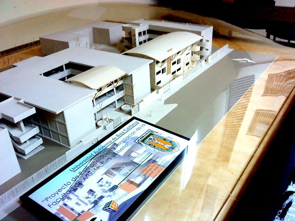 Maqueta Facultad De Arquitectura Y Dise O Maqueta De