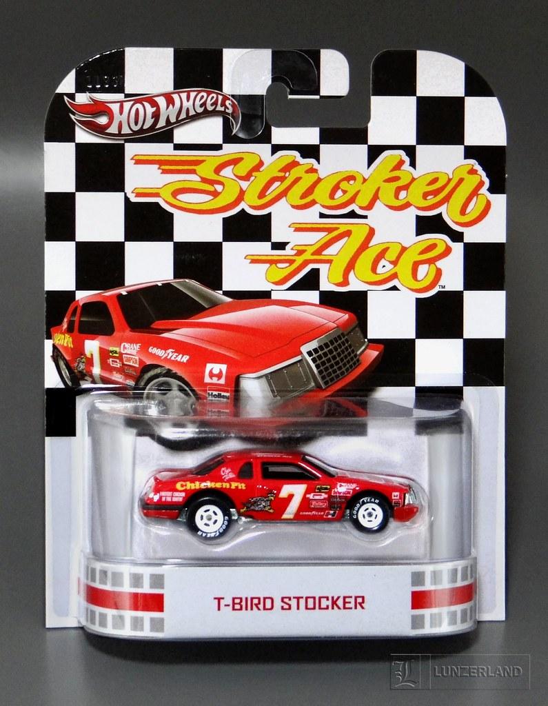 Stroker Ace  T-Bird Stocker 164 Scale Die Cast Mint On C -3247