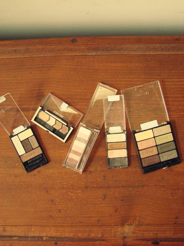 Drugstore Neutral Eyeshadow Palettes 2