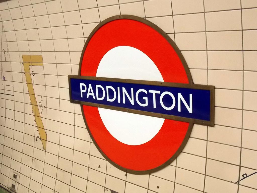Paddington 2 >> Paddington station sign, Bakerloo line | Paddington ...