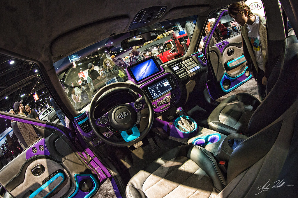 Kia Tricked Out Tricked Out Kia Soul Interior Captured At Flickr
