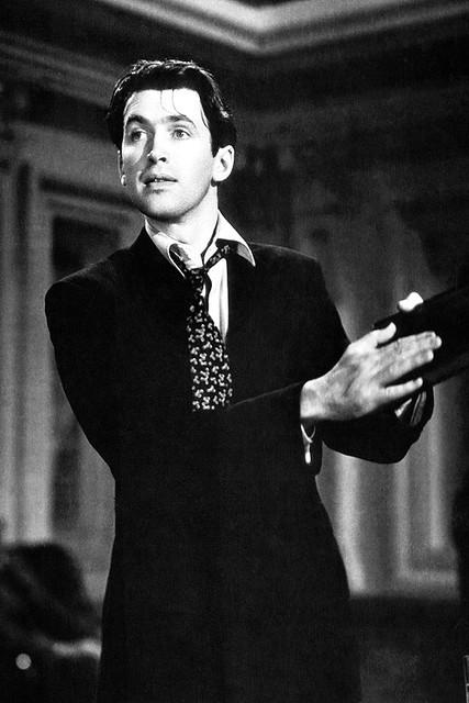James Stewart in 'Mr Smith Goes to Washington', 1939.