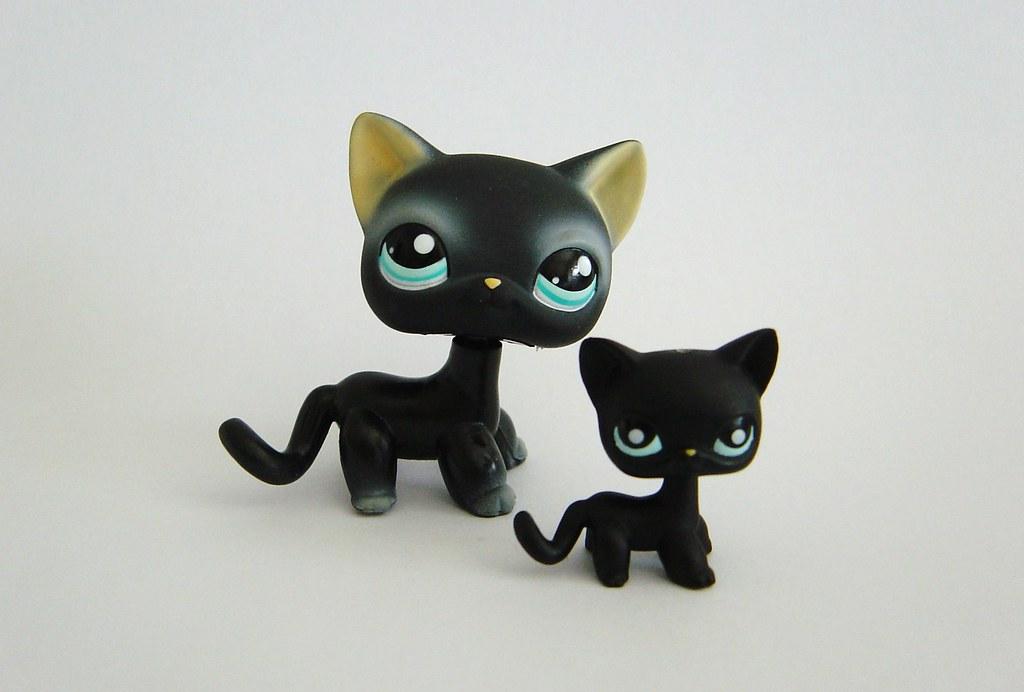 Lps White Cat And Black Cat