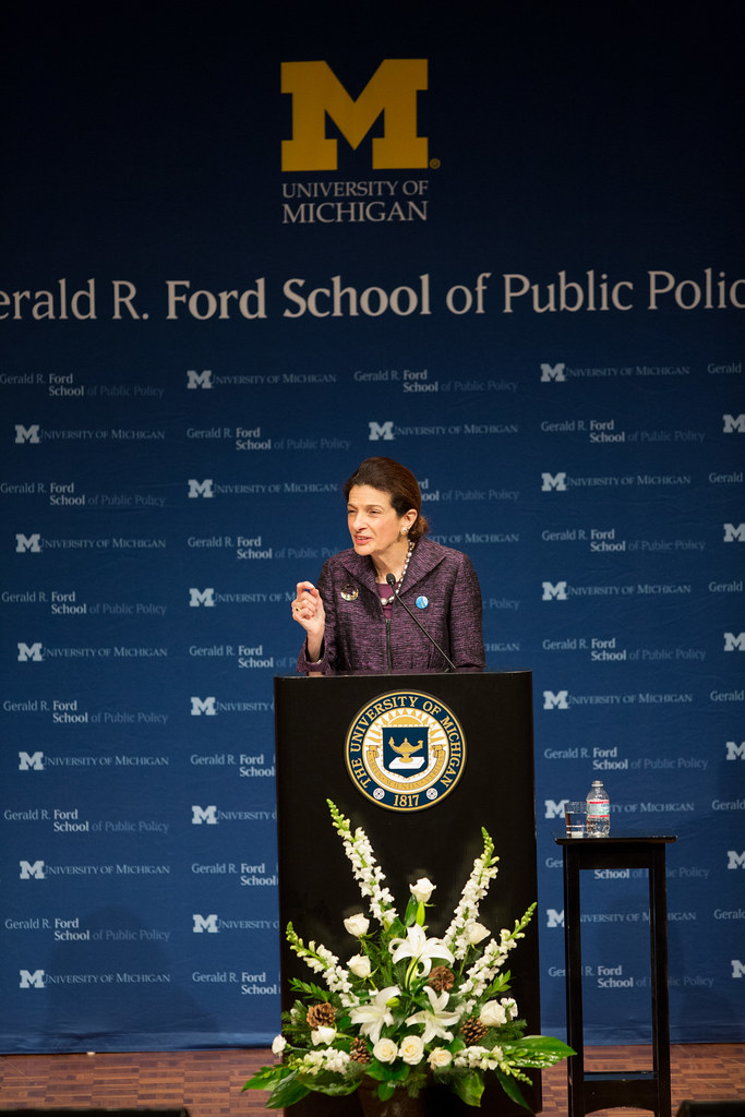 policy talks the ford school lecture by senator olympia flickr. Cars Review. Best American Auto & Cars Review
