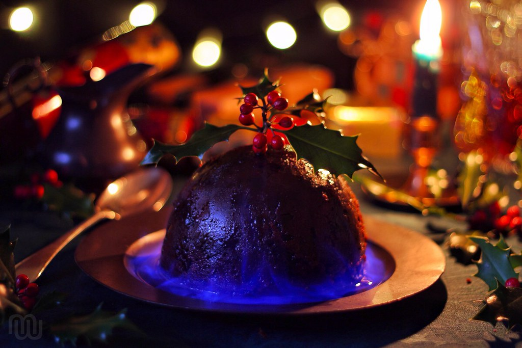 English Christmas Pudding