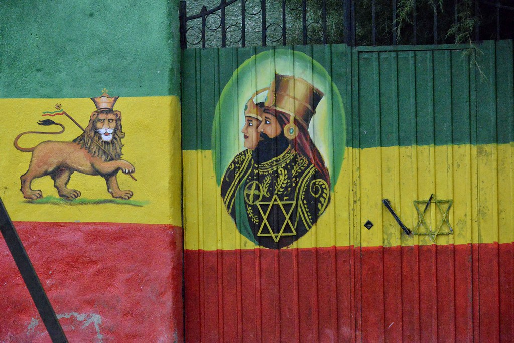 Rasta Mural, Sheshemane | Ethiopia | Rod Waddington | Flickr
