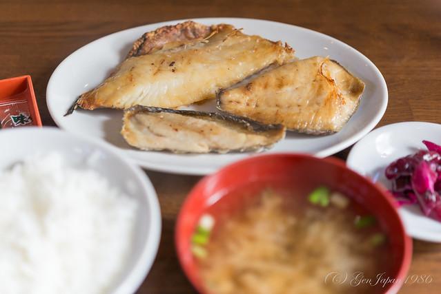 大師 焼魚定食