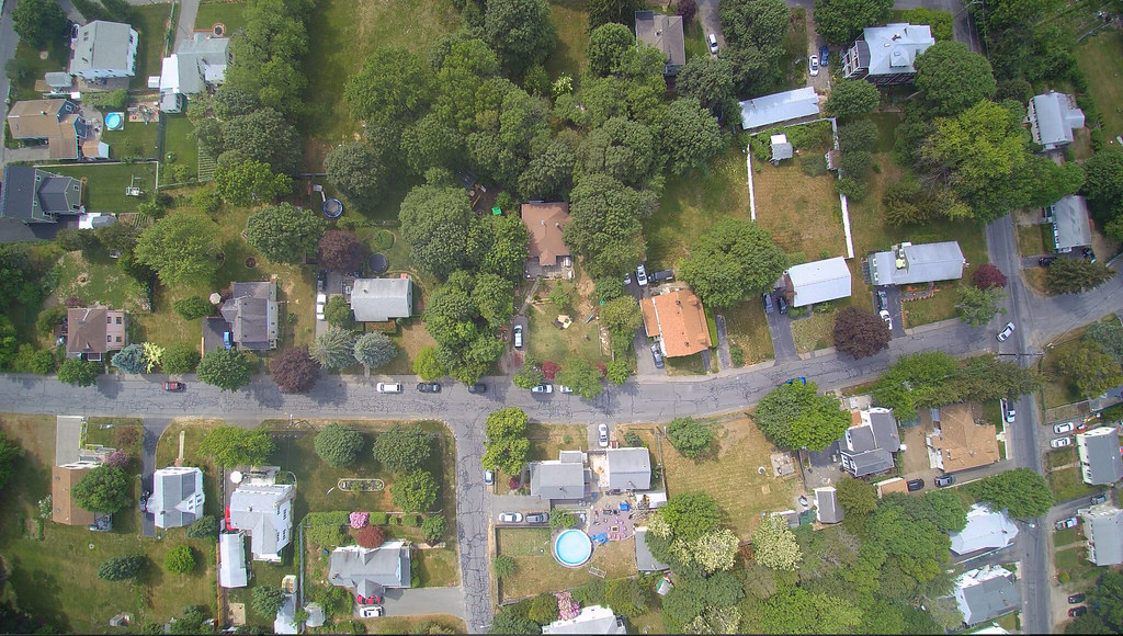 Drones Eye View of our set today from 400 feet up. Highest we are legally allowed to go. Direct center of the photo is where the magic was happening :)