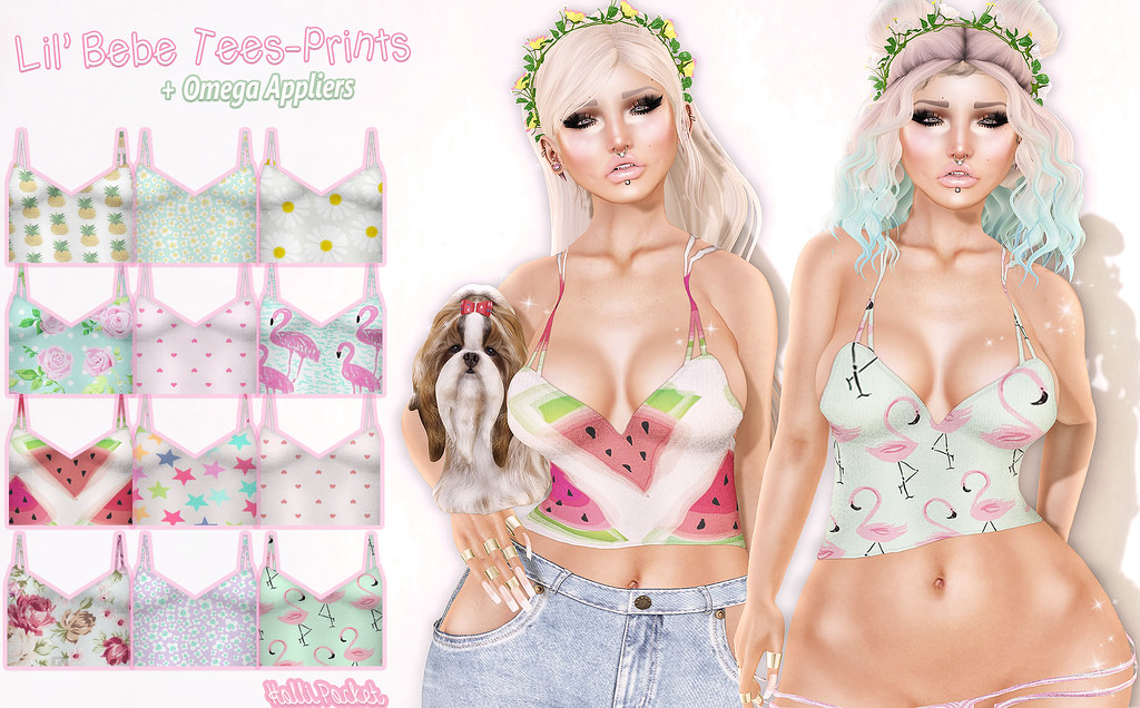 HolliPocket-Lil Bebe Shirt-Prints Ad