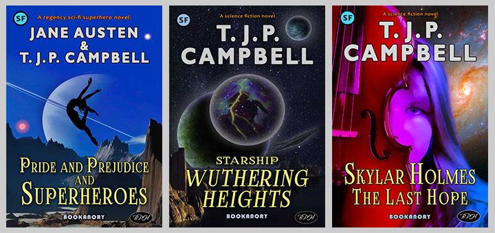 Louise Nolan trio book covers
