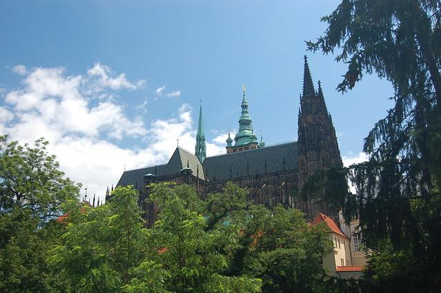 布拉格 城堡區 花園