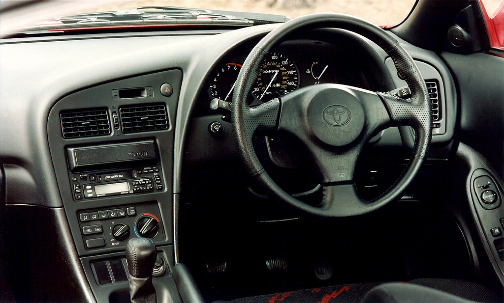 Toyota celica gt 1995 interior the incredible toyota for Toyota celica interior