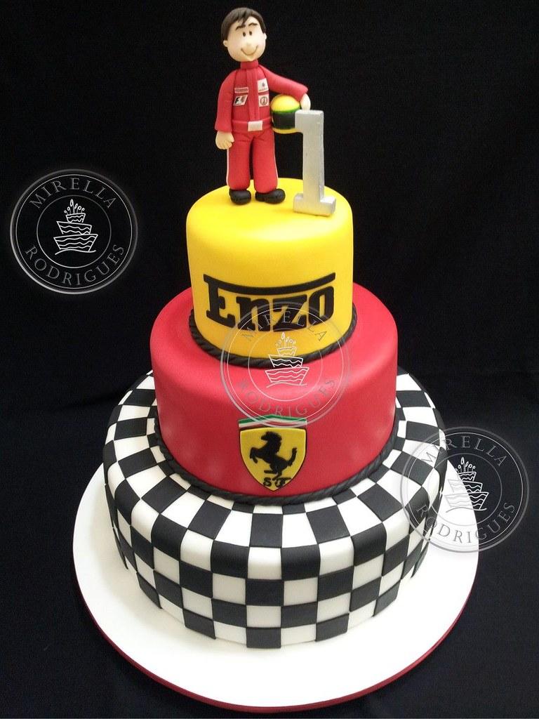 Bolo Tema Ferrari Www Mirellarodrigues Com Mirella