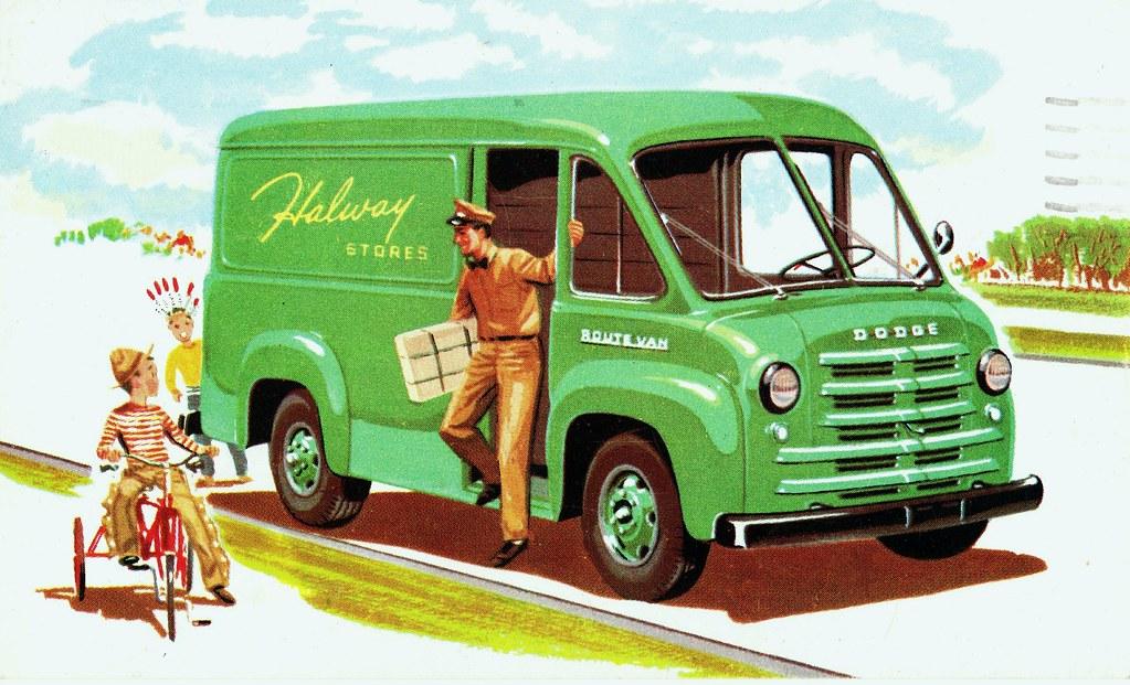 1954 Dodge Route Van Delivery Van Alden Jewell Flickr