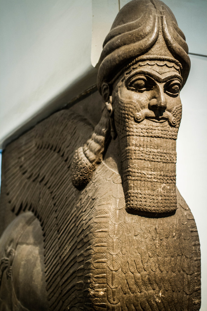 Persian statue taken in the british museum london swaminathan flickr