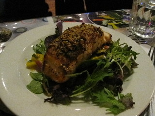 Pumpkin Seed Crusted Salmon