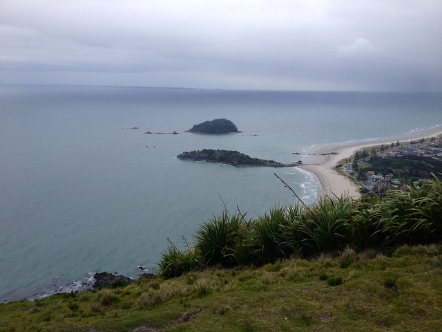 Moturiki + Motuotau Islands - from Mount Maunganui