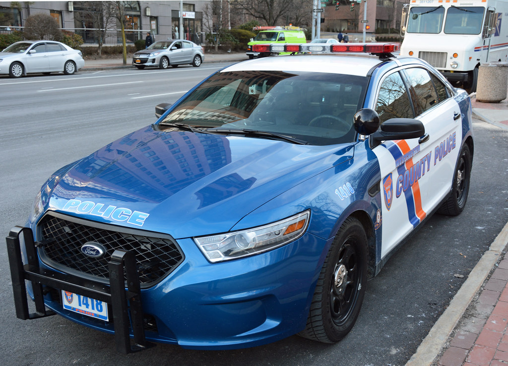 New Westchester County Car 1418 2015 Ford Taurus Police