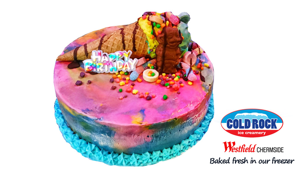 Rainbow Bubblegum Cake
