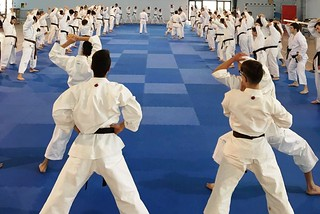 Noicattaro. Esami di graduazione karate front