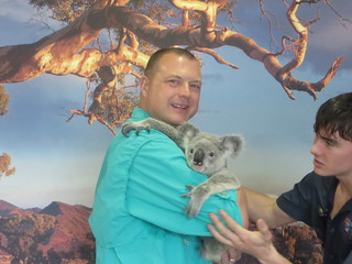 Steve with Koala
