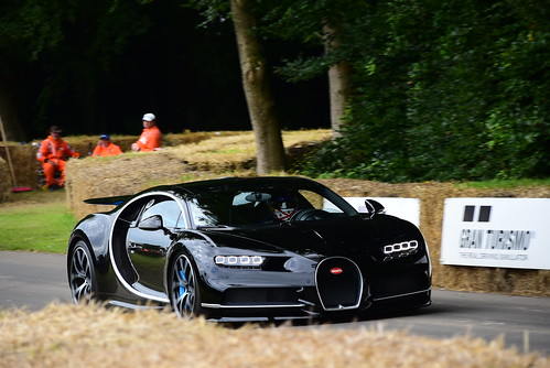Lord March, Bugatti Chiron, Goodwood Festival of Speed 2016