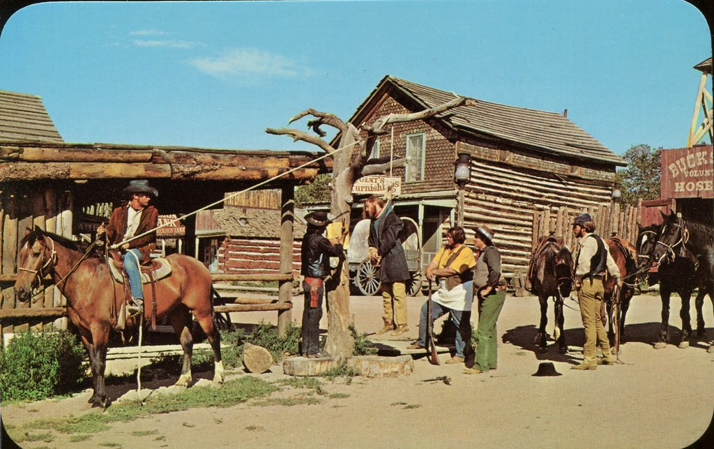 Frontier Justice Buckskin Joe Mining Town Colorado Flickr
