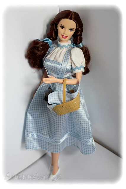 Dorothy barbie doll the wizard of oz