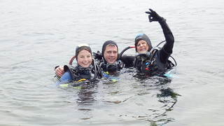 Open Water Diver Bjorn en Kelly
