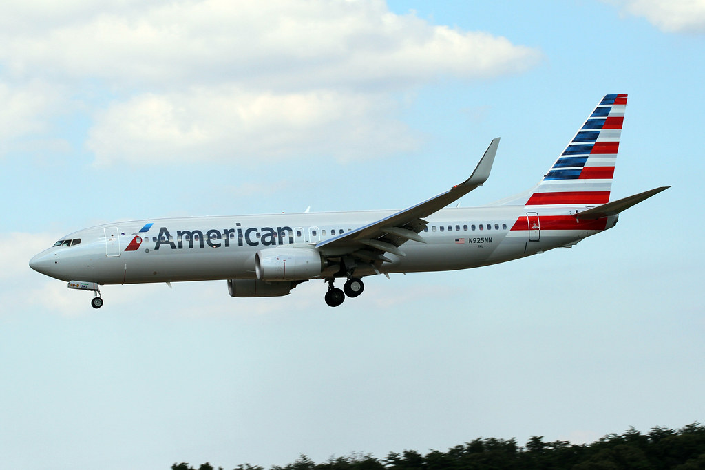 B737 8 N925an American Airlines B737 823 Bwi 7 26 13