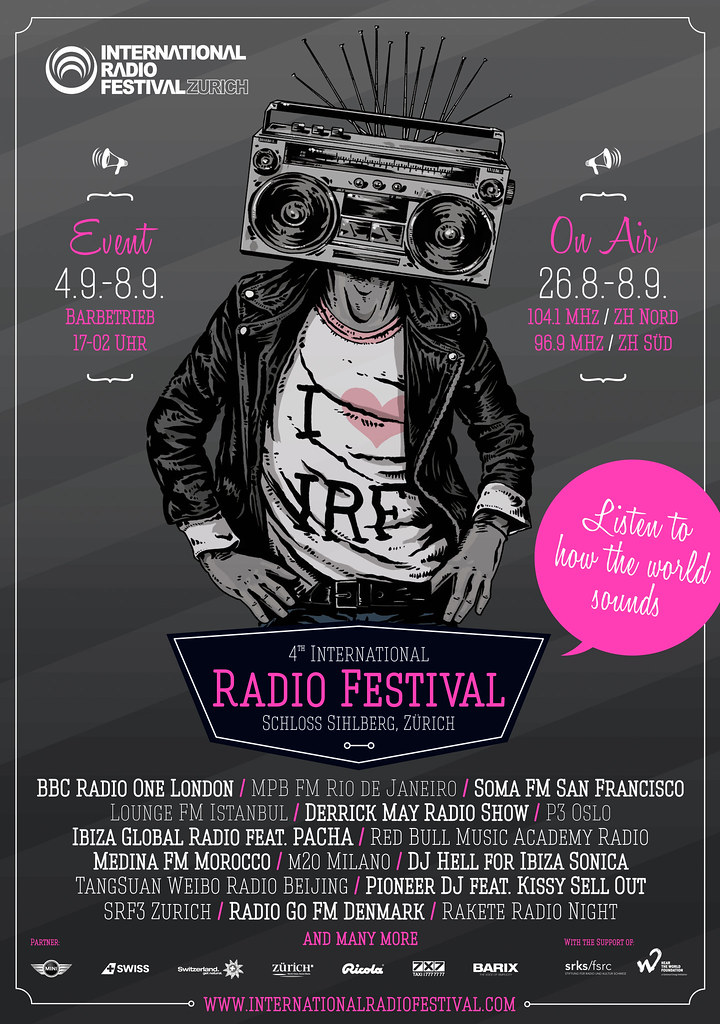 Tune Up Service >> International Radio Festival 2013 Poster #IRFRadioFest | Flickr