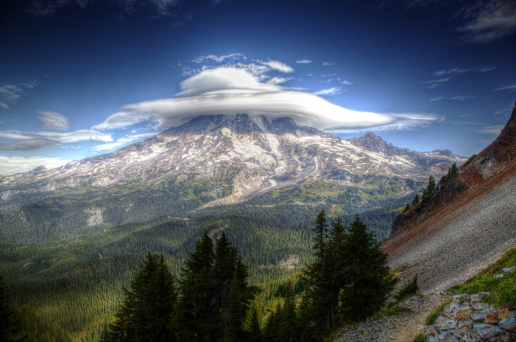 mt rainier from pinnacle peak thank you for all the