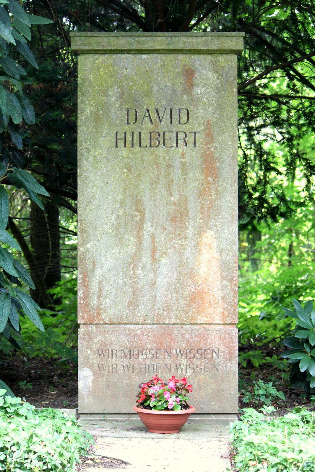 David hilbert doctoral dissertation