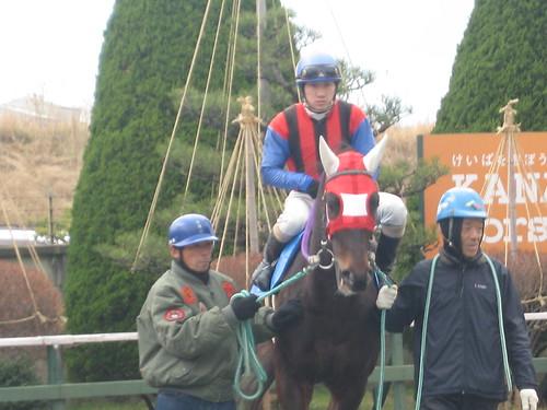 金沢競馬場の吉原寛人騎手