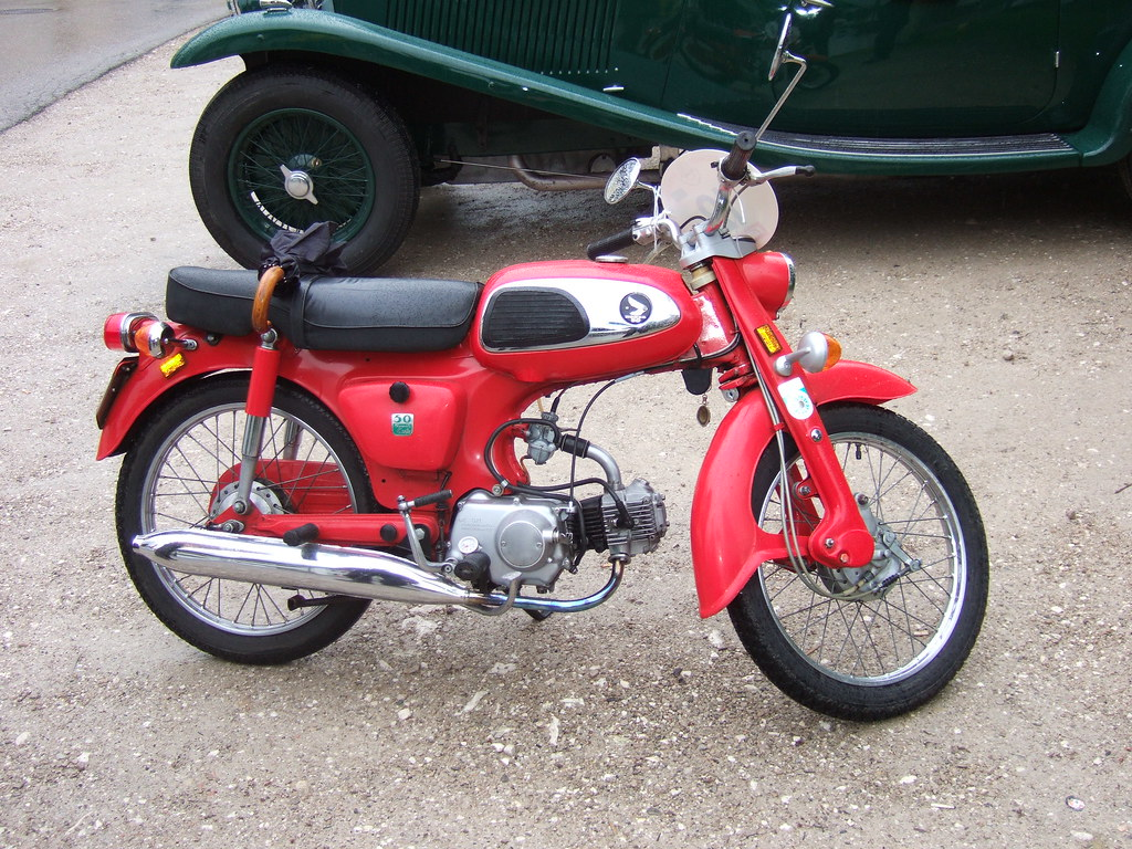 Honda Cd 50 1969 Viertakt 49ccm 5 2 Ps 17 Int