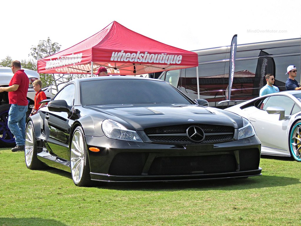 Mercedes benz sl65 black series amelia island nick for B series mercedes benz