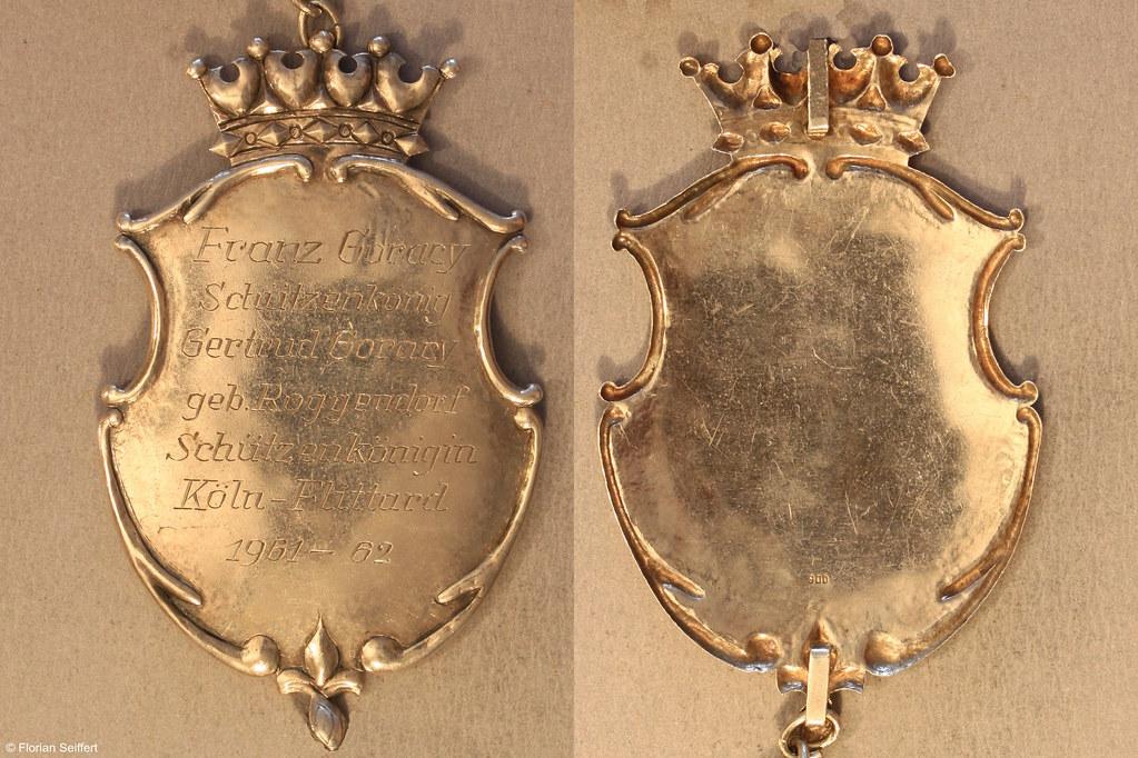 Koenigsschild Flittard von goracy franz aus dem Jahr 1961