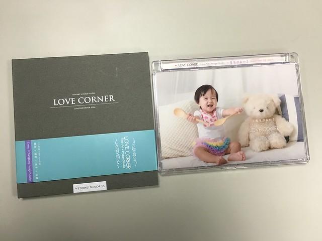 愛情街角親子攝影,成品光碟,和去年的擺在一起比一比