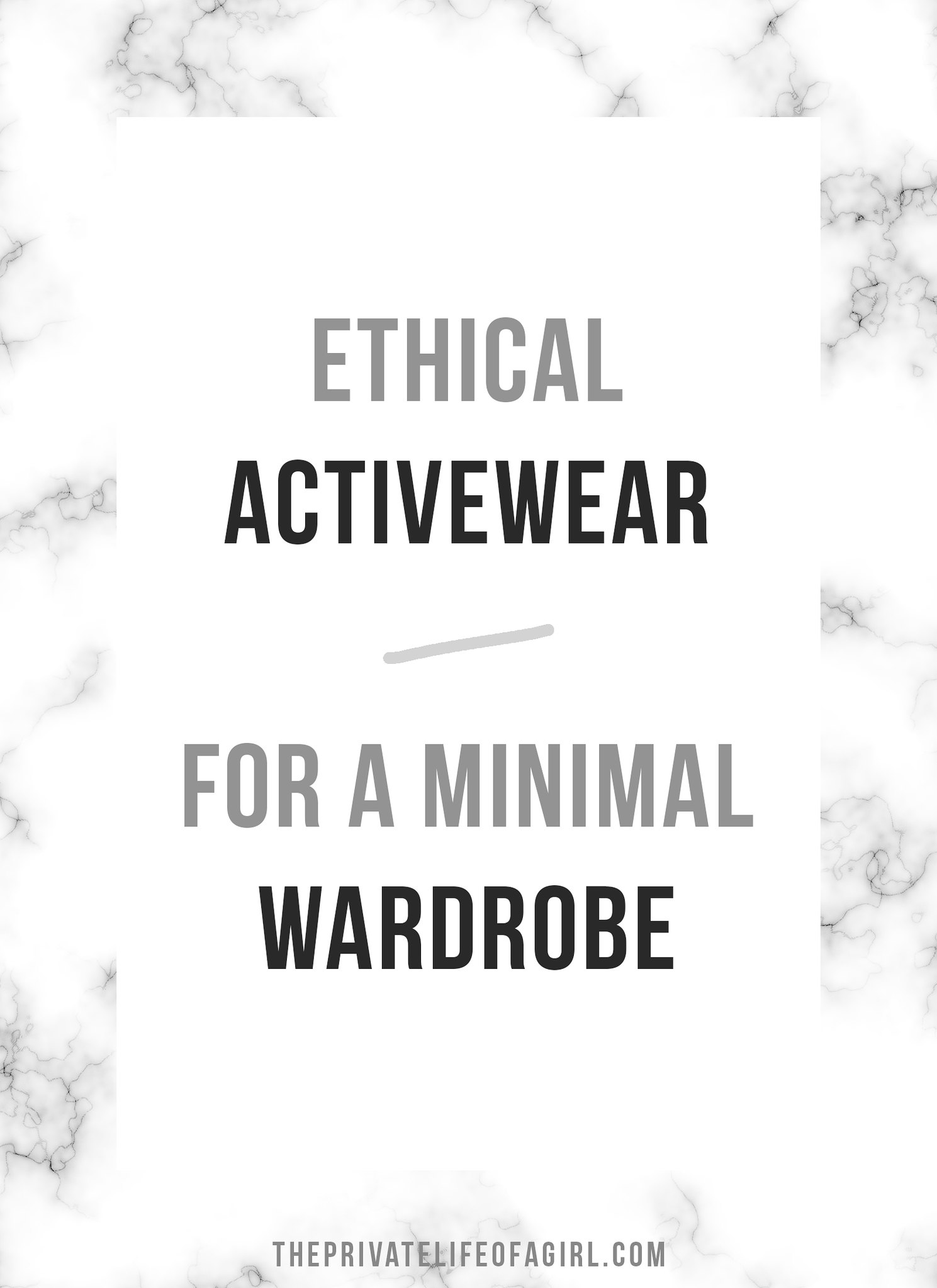 Ethical Activewear