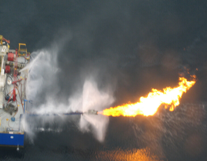 Burner Fire Control Water Curtain® Boom Nozzle | Flickr - Photo ...